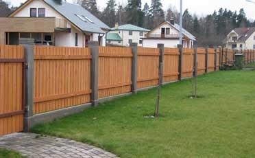 Дешевый забор на участок автоматические ворота 2