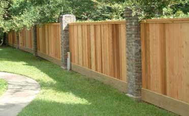 Забор для дома своими руками фото